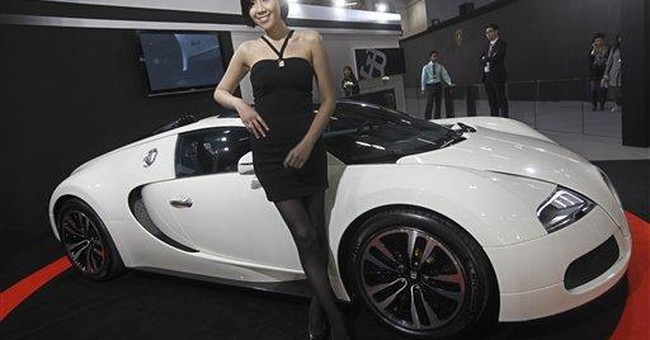 Supercar makers chase China's superrich motorheads