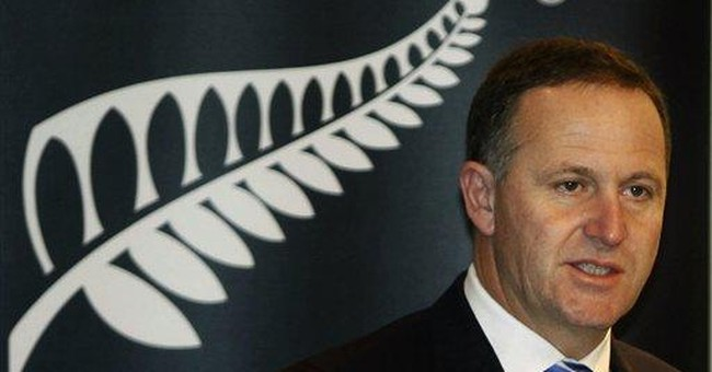 NZ leader wins 2nd term, pledges fiscal discipline