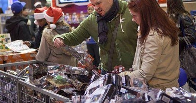 Sharp elbows: Shoppers scuffle on Black Friday