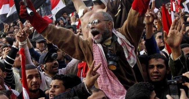 On eve of Egypt's election, a revolution reboot