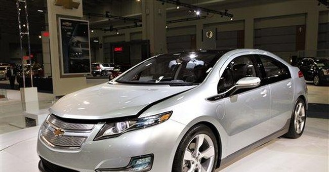 Battery fires prompt govt probe of Chevy Volt