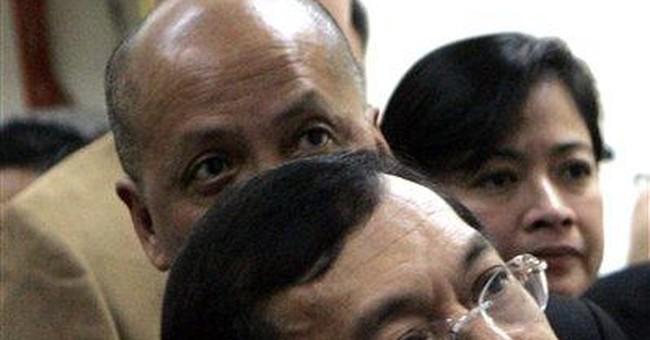 Healthier Philippine ex-leader seeks house arrest