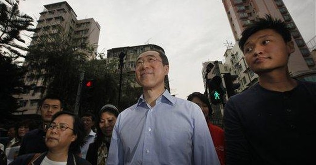 Hong Kong's likely next leader confirms candidacy