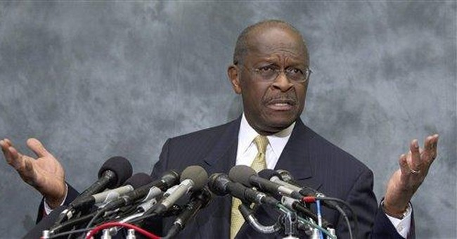 Cain says harassment claims have affected support