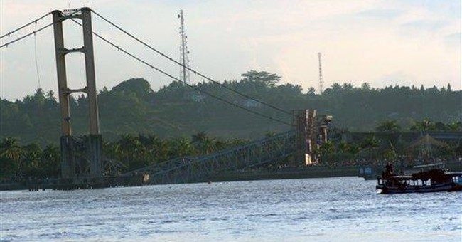 40 people missing after Indonesia bridge collapse