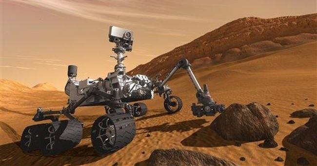 NASA launches super-size rover to Mars: 'Go, Go!'