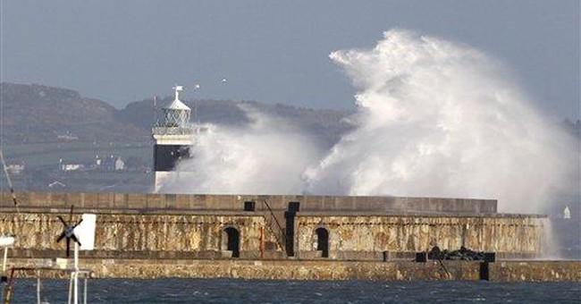 Prince William joins Irish Sea rescue mission