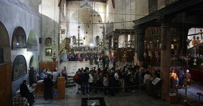 After centuries, Bethlehem church to get new roof