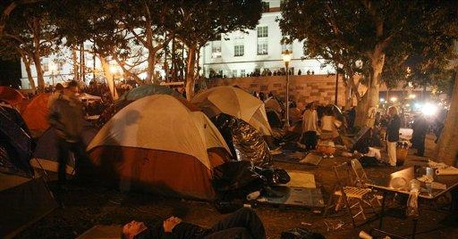 Streets reopened after Occupy Los Angeles protest