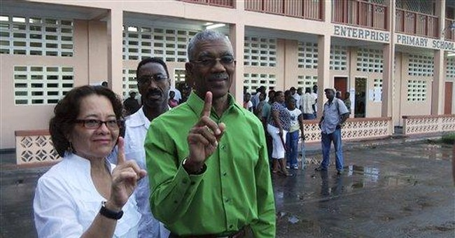 Guyana voters choose between 3 parties in election