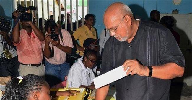 Guyana's new leader sworn in; pledges compromise