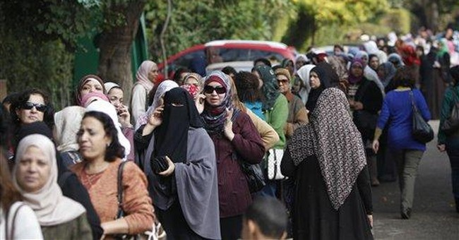 Egypt: Conflicting emotions behind a 1st-time vote