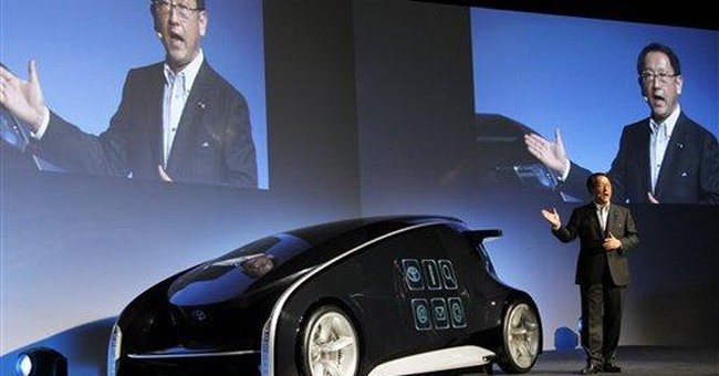 Toyota unveils high-tech concept car ahead of show