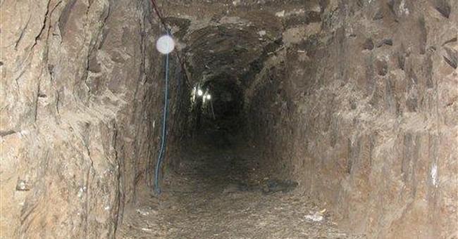 New Calif. border drug tunnel found