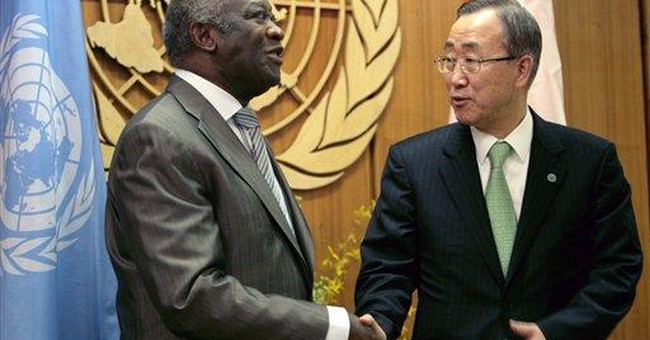 Ivory Coast's Gbagbo taken into custody at ICC