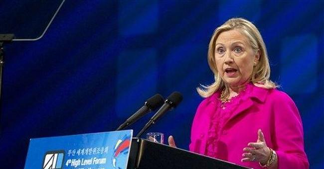 Clinton condemns Iranian mob attack