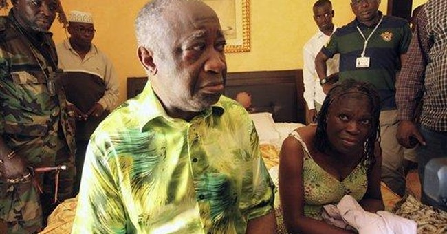Ivory Coast's Gbagbo appears before int'l court