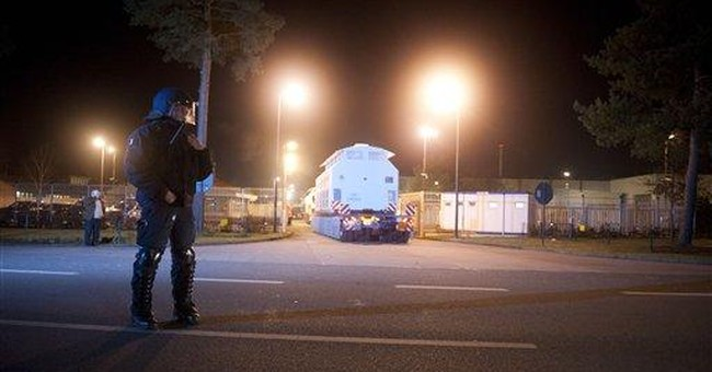 Nuclear waste reaches destination in Germany