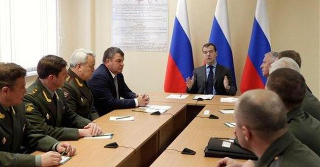 Medvedev: New radar demonstrates Russia's might