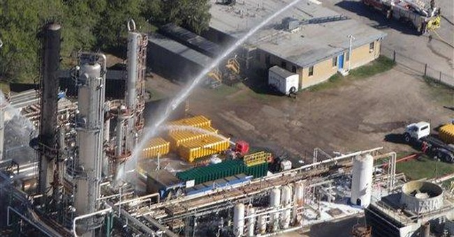Refinery: Dislodged valve triggered fire at plant