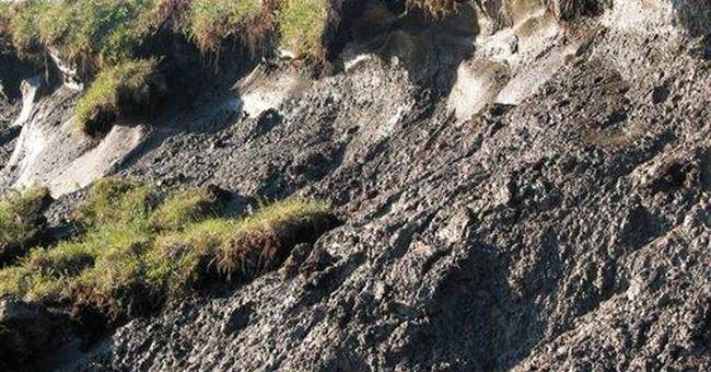 Thawing permafrost vents gases to worsen warming