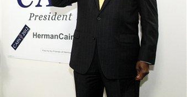 Cain says he's yet to face wife over accusation