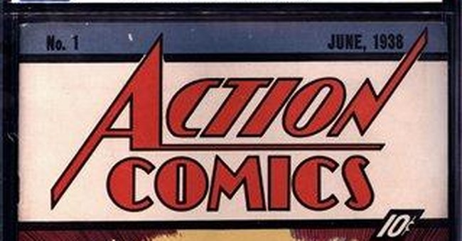 Action Comics 1 sells for $2.16 million in auction