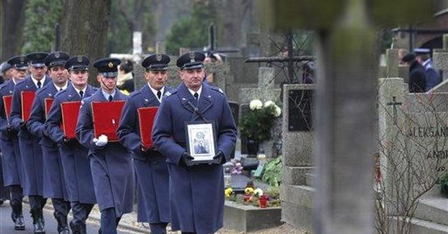 Poland's last known Battle of Britain vet buried