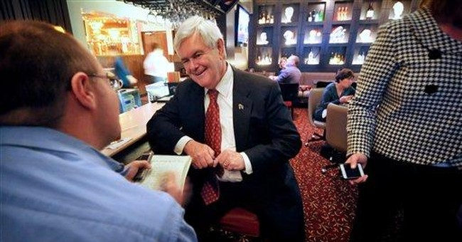 Gingrich trails in organizing in early-voting Iowa