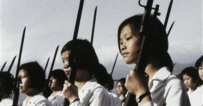 Taiwanese youth losing appetite for fighting China