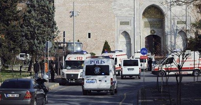 Report: 1 detained over Topkapi Palace attack