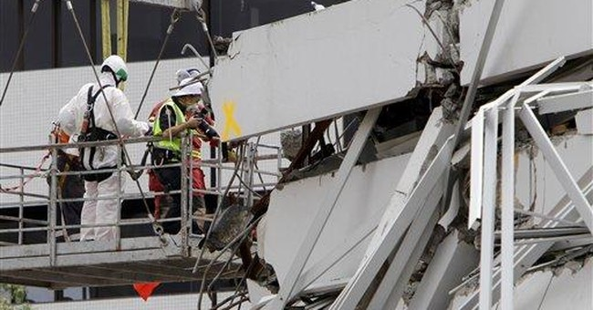 NZ engineers found building safe before collapse