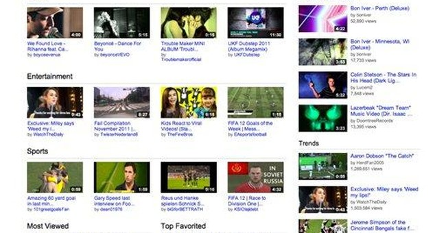 YouTube renovates website with a new look, format