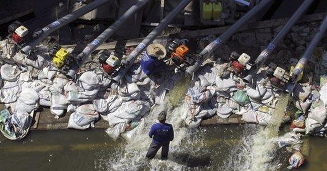 Thailand cleans up, but some areas remain flooded