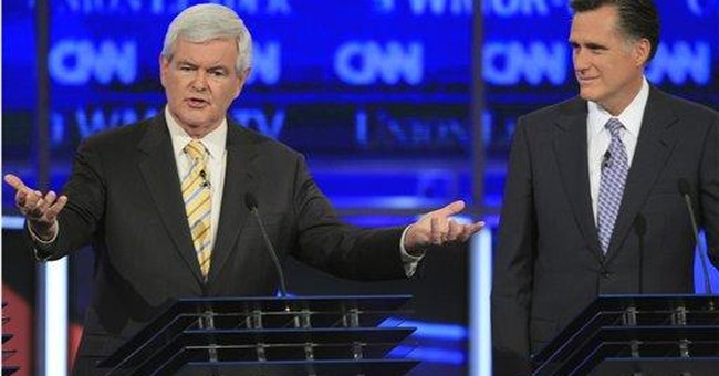Romney attacks Gingrich as Washington insider