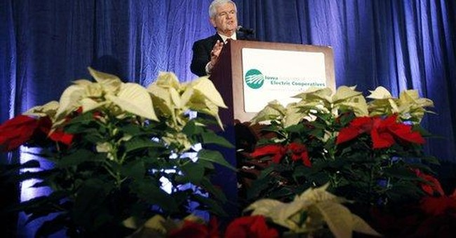 Gingrich bets on unconventional primary strategy