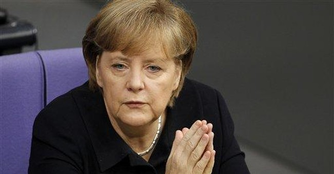 Merkel wants treaty rewrite to fix euro