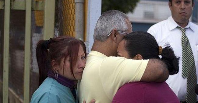 Puerto Rico office shooting leaves 1 dead, 1 hurt