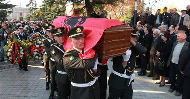 Albania holds funeral for self-styled king Leka I