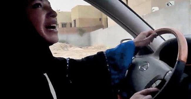 Saudi report: Women driving spurs premarital sex