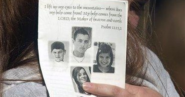Family funeral held for 5 young NC slaying victims