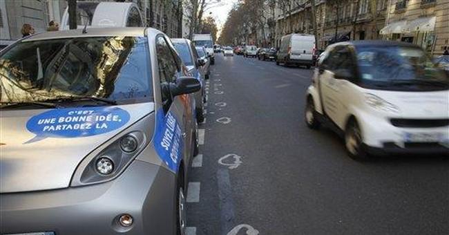 Paris to launch electric car sharing program