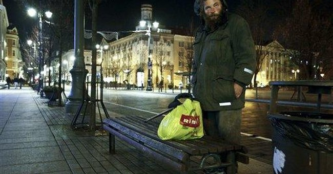 Lithuania cracks down on beggars and almsgivers