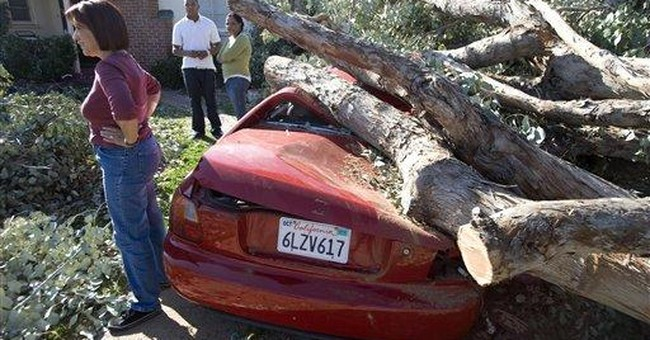 Wind-related power outages persist in LA