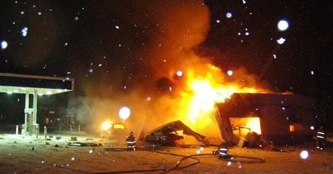 Explosion at Alaska gas station injures 5