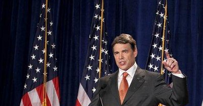 Perry called top donors from work phones