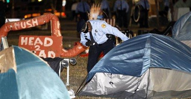 Judge lets protesters return to New Orleans park