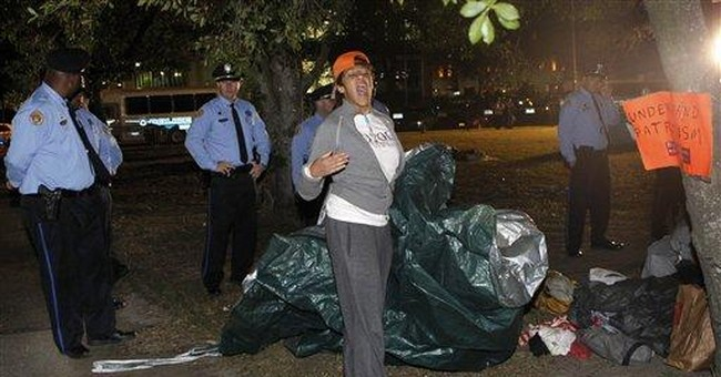 Police clear out Occupy New Orleans camp