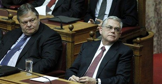 Greek lawmakers approve 2012 austerity budget
