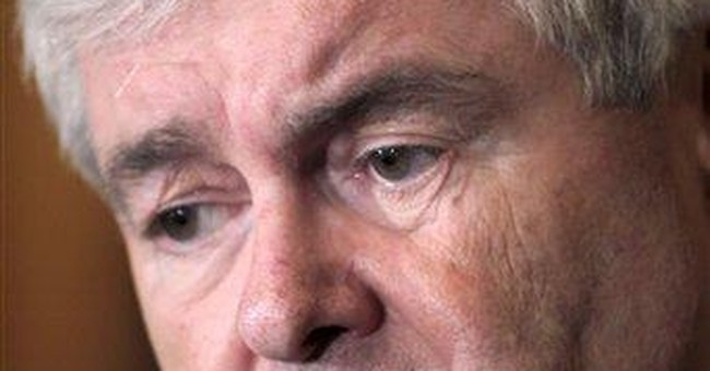 Long Washington record starting to haunt Gingrich